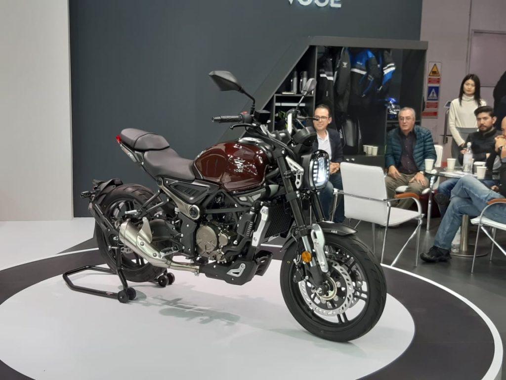 На Мотосалоне EICMA В Милане Китайский Бренд Voge Представил Три Новых Мотоцикла