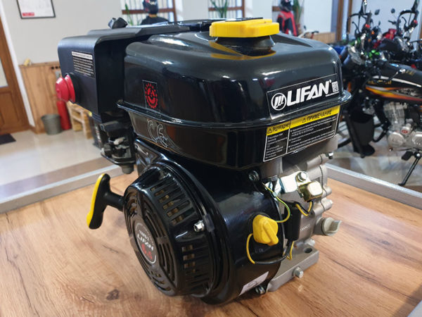 Двигатели Lifan для мотоблоков, мотокультиваторов, мотопомп в Шымкенте. Купить Двигатель LIFAN 6,5 л.с. 168F-2 (200) (вых. вал d20 мм) в Шымкенте. Продажа